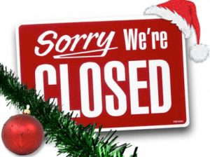 Christmas - Office Closed