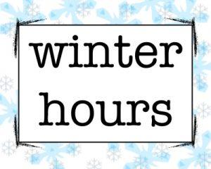 Winter Hours