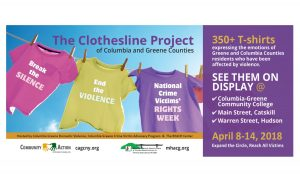 The Clothesline Project of Columbia and Greene Counties
