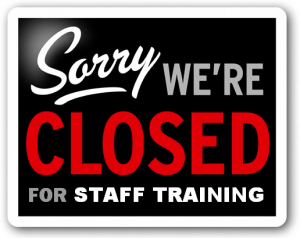 Staff Training - Office Closed