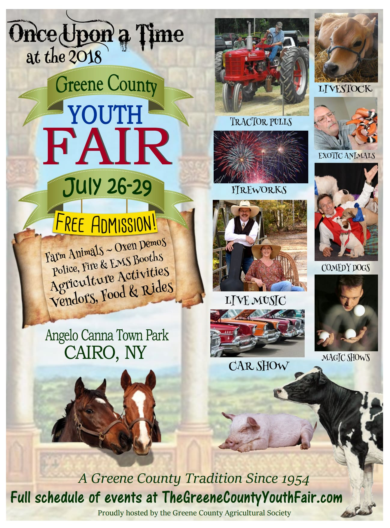 Greene County Youth Fair @ Angelo Canna Town Park | Cairo | New York | United States