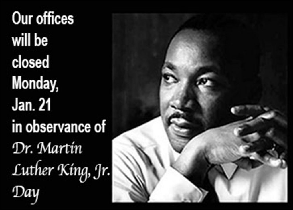Martin Luther King Day-Office Closed All Day @ Community Action of Greene County, Inc. | Catskill | New York | United States